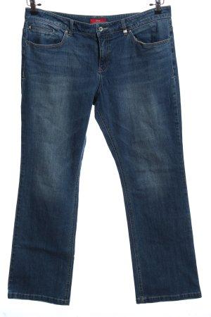 s.Oliver Jeans a gamba dritta blu stile casual