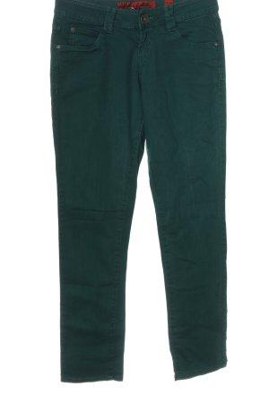 s.Oliver Jeansy z prostymi nogawkami zielony W stylu casual