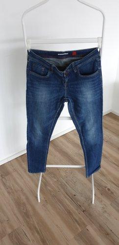 s.Oliver Jeans met rechte pijpen blauw