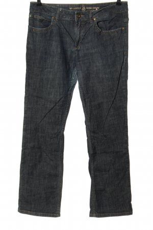 s.Oliver Straight-Leg Jeans blau Casual-Look