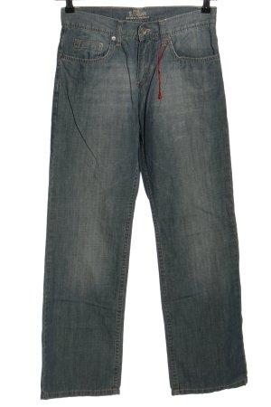 s.Oliver Straight-Leg Jeans hellgrau Casual-Look