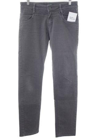 s.Oliver Jeansy z prostymi nogawkami ciemnoszary Styl klasyczny