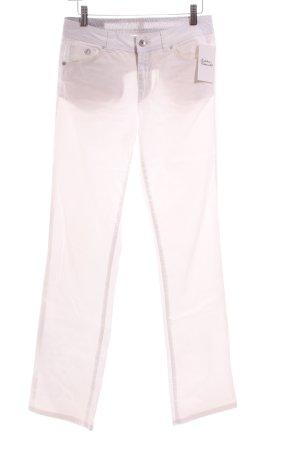 s.Oliver Jeansy z prostymi nogawkami biały Aplikacja z logo