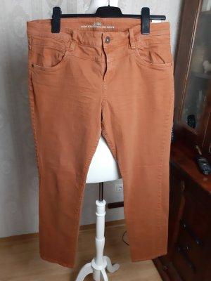 s. Oliver (QS designed) Jeans a gamba dritta arancione scuro Cotone