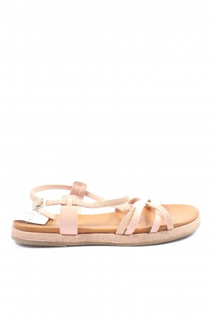 s.Oliver Beach Sandals cream-pink casual look