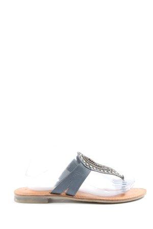 s.Oliver Sandały plażowe brązowy-jasnoszary W stylu casual