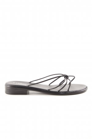 s.Oliver Beach Sandals black beach look