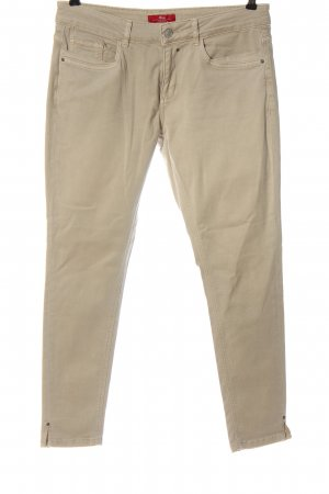 s.Oliver Stretch Jeans creme Casual-Look