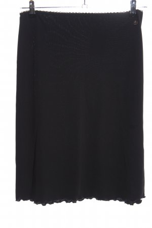 s.Oliver Falda stretch negro look casual