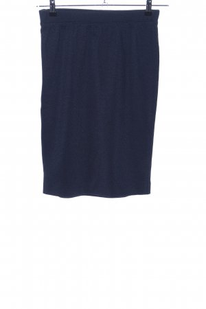 s.Oliver Stretch rok blauw casual uitstraling