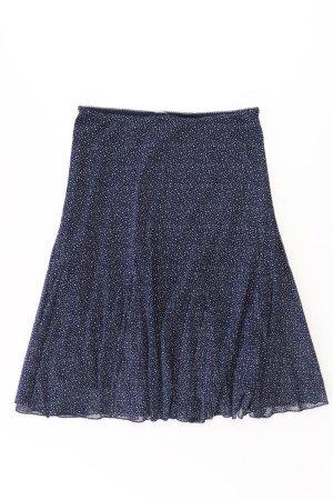 s.Oliver Stretchrock Größe 38 gepunktet blau aus Polyester