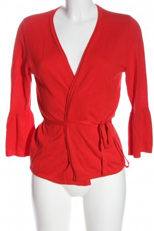 s.Oliver Knitted Cardigan red casual look