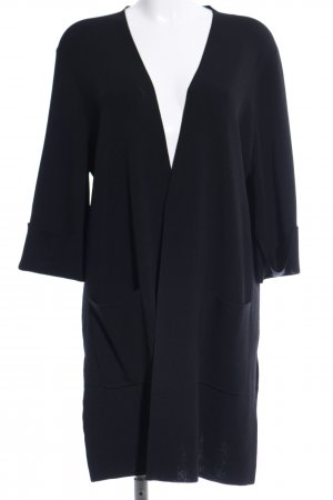 s.Oliver Strick Cardigan blau Casual-Look