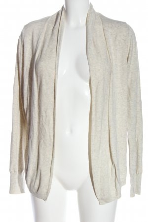 s.Oliver Knitted Cardigan cream flecked casual look