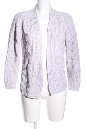 s.Oliver Strick Cardigan pink-türkis Allover-Druck Casual-Look