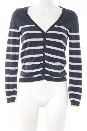 s.Oliver Strick Cardigan Streifenmuster Casual-Look