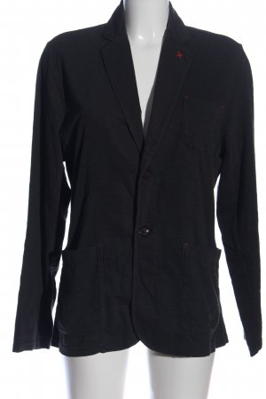 s.Oliver Knitted Blazer black casual look