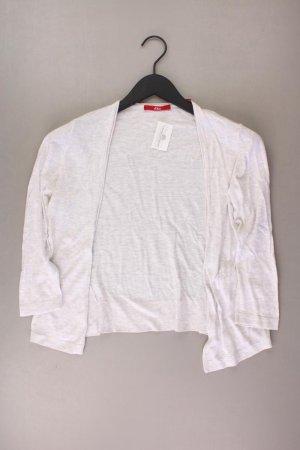 s.Oliver Strickjacke Größe 36 3/4 Ärmel grau aus Baumwolle