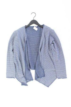 s.Oliver Strickjacke Größe L gestreift Langarm blau aus Baumwolle