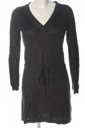 s.Oliver Knitted Dress light grey flecked casual look