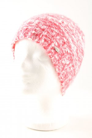 s.Oliver Knitted Hat red-white flecked casual look