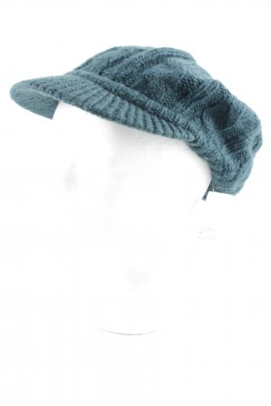 s.Oliver Knitted Hat petrol casual look