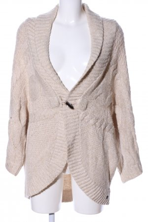 s.Oliver Strickponcho wollweiß meliert Casual-Look