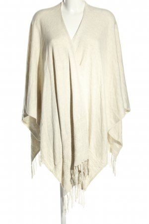 s.Oliver Knitted Poncho cream casual look