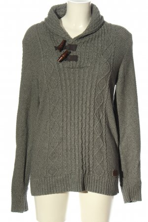 s.Oliver Strickpullover hellgrau Casual-Look