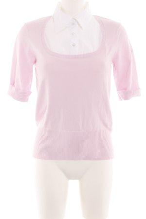 s.Oliver Strickpullover pink Business-Look