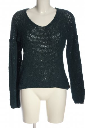 s.Oliver Strickpullover blau Webmuster Casual-Look