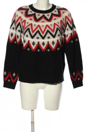 s.Oliver Strickpullover grafisches Muster Casual-Look