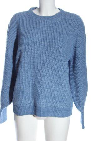 s.Oliver Strickpullover blau Casual-Look
