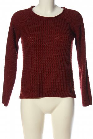 s.Oliver Strickpullover rot Casual-Look
