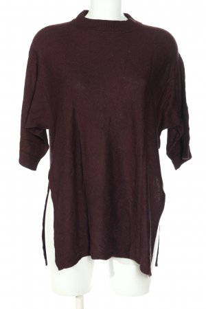 s.Oliver Strickpullover lila Casual-Look