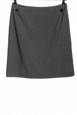 s.Oliver Knitted Skirt black-light grey graphic pattern casual look