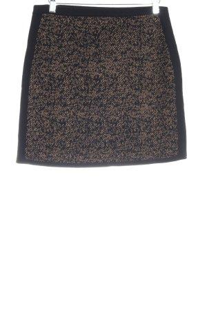 s.Oliver Jupe tricotée noir-beige élégant
