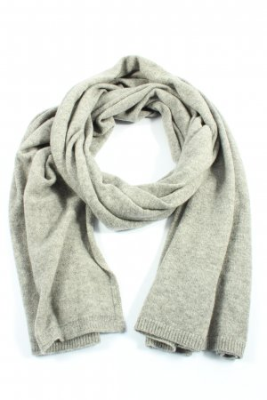 s.Oliver Knitted Scarf light grey flecked casual look