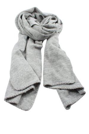 s.Oliver Écharpe en tricot gris clair style décontracté