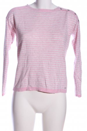 s.Oliver Strickpullover pink-hellgrau meliert Casual-Look