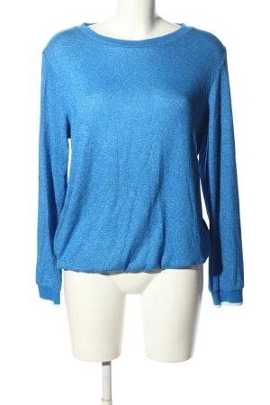 s.Oliver Strickshirt blau Casual-Look