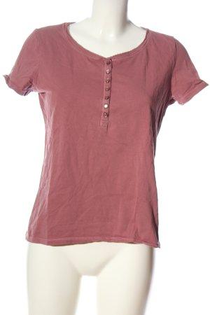 s.Oliver Camicia maglia rosa punto treccia stile casual