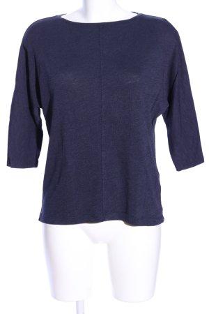 s.Oliver Camicia maglia blu puntinato stile casual