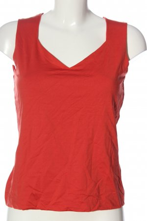 s.Oliver Stricktop rot Streifenmuster Casual-Look