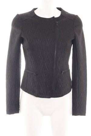 s.Oliver Sweat Blazer black graphic pattern business style