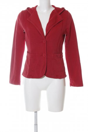 s.Oliver Sweatblazer rot Casual-Look