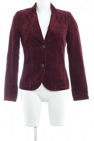 s.Oliver Sweat Blazer bordeaux casual look