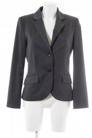 s.Oliver Sweat Blazer grey brown striped pattern business style