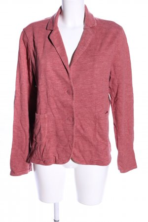 s.Oliver Sweat Blazer pink-brick red flecked casual look