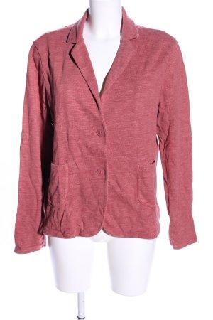 s.Oliver Blazer de tela de sudadera rosa moteado look casual